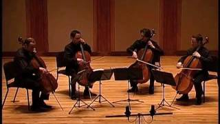 Boston Cello Quartet plays Schubert, Marche Militaire