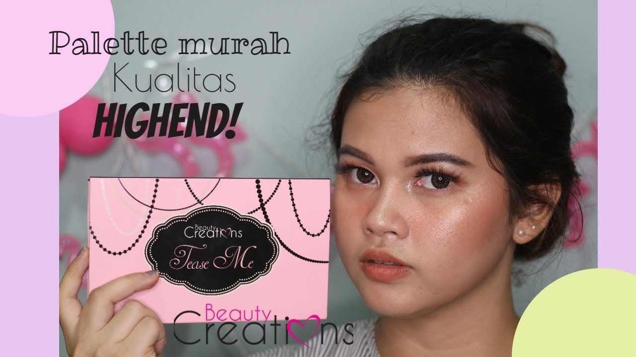 Makeup Favorite Review Beauty Creations Tease Me Youtube Eyeshadow Palette