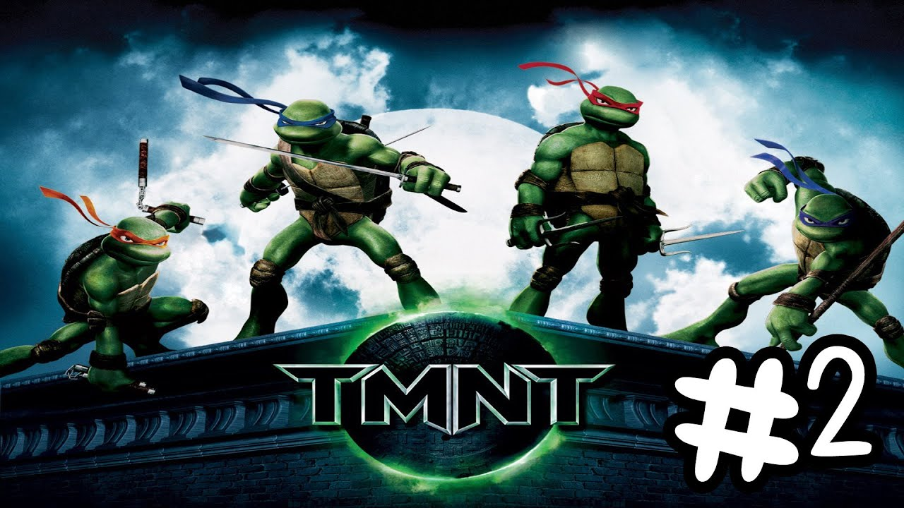 Lets Play TMNT The Movie Game 2007 Walkthrough Part 2 No