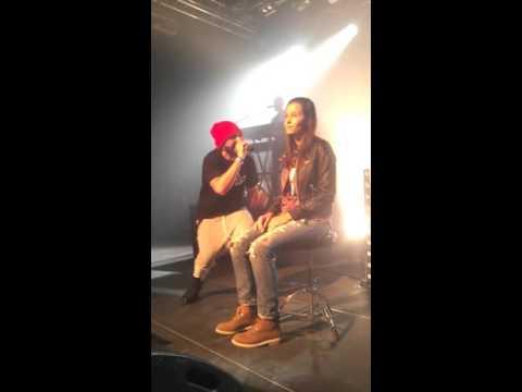 Brav - Melia live 26/09/2015 Tetris le havre