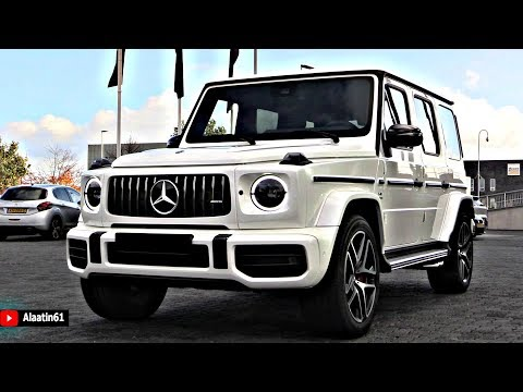 2019 Mercedes G63 AMG 4 MATIC + BRUTAL SOUND FULL Review G Wagon Interior Exterior