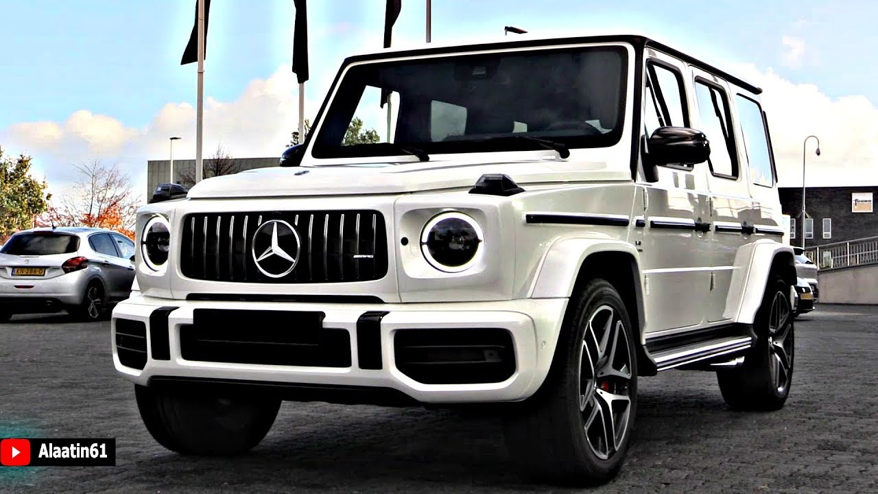 2019 mercedes g63 amg 4 matic   brutal sound full review g wagon interior exterior