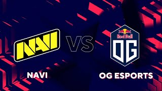 ГРАНД-ФИНАЛ ГРУППЫ А. NAVI vs OG. BLAST PREMIER FALL 2020