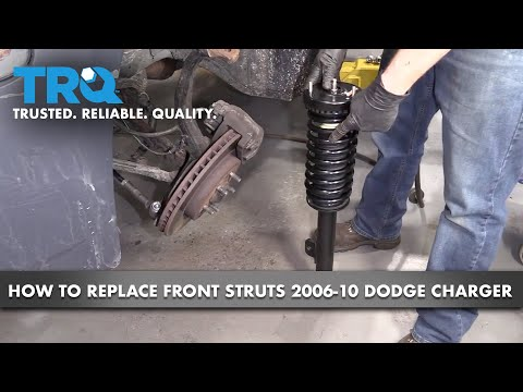 How to Replace Front Struts 06-10 Dodge Charger