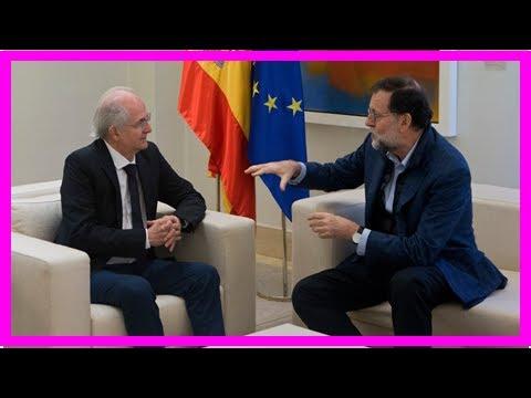 NEWS 24H - Spain: ex-caracas mayor met the leaders after fleeing venezuela