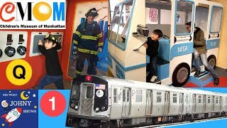 Johny's MTA Subway Train Ride To The Children's Museum NYC