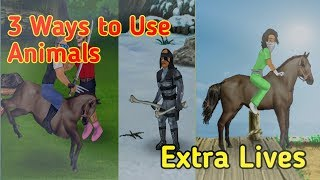 3 Ways to Use Animals in Extra lives (Survival sim).