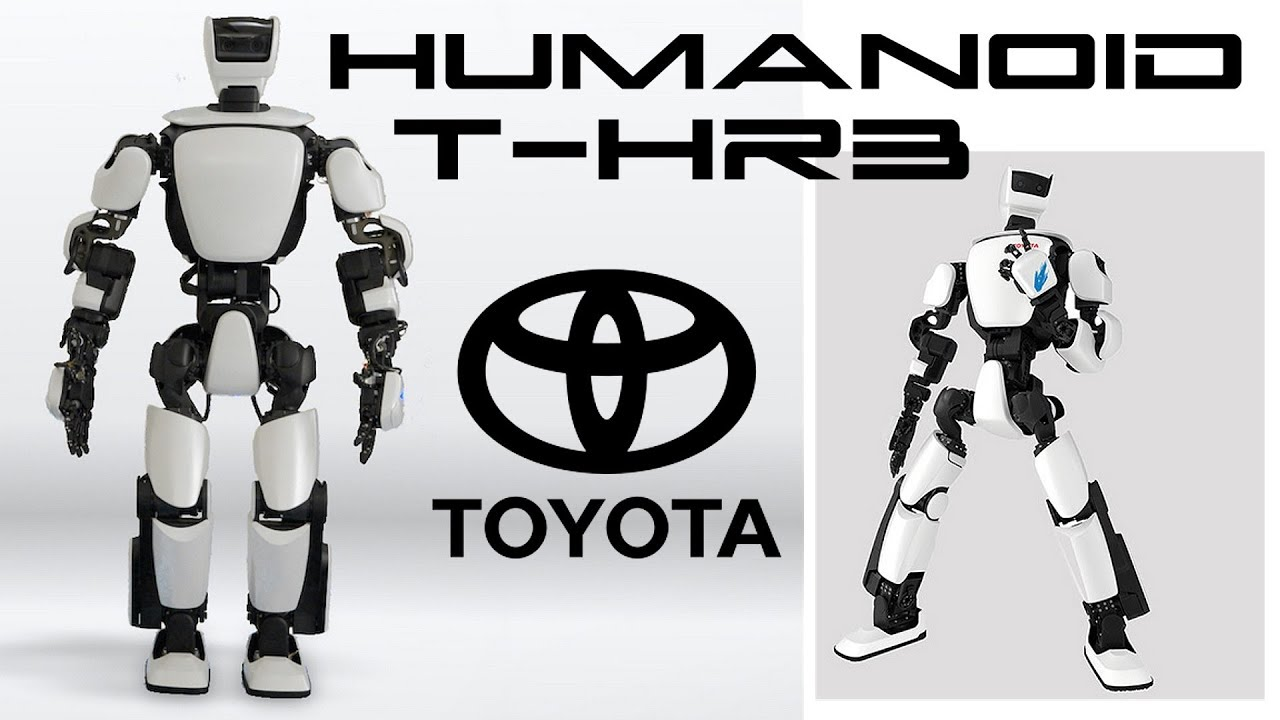 toyota 39 s humanoid robot t hr3 youtube. Black Bedroom Furniture Sets. Home Design Ideas