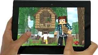 Minecraft PE : CASA NA ARVORE ( Minecraft Pocket Edition)