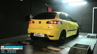 Reprogrammation Seat Ibiza FR 1.9 TDI 130hp @ 221hp (stage 3) par BR-Performance