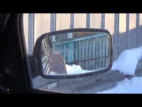 """Установка зеркал """"Политех"""" на ВАЗ-2107."""
