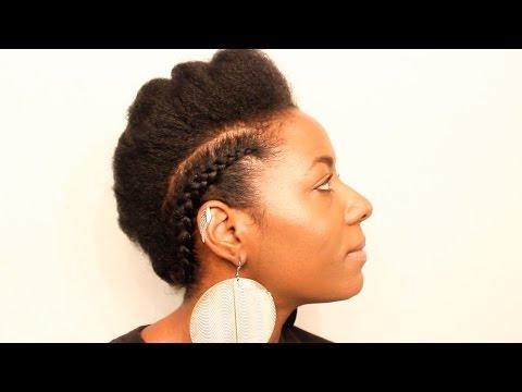 Natural Hair| Braided