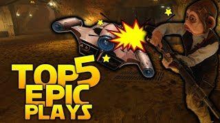 MELEE VS LANDSPEEDER: Battlefront 2 Top 5 Epic Plays!