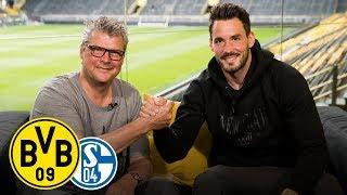 Winning two derbies in one season? | Roman Bürki joins Matchday Magazine | BVB - Schalke