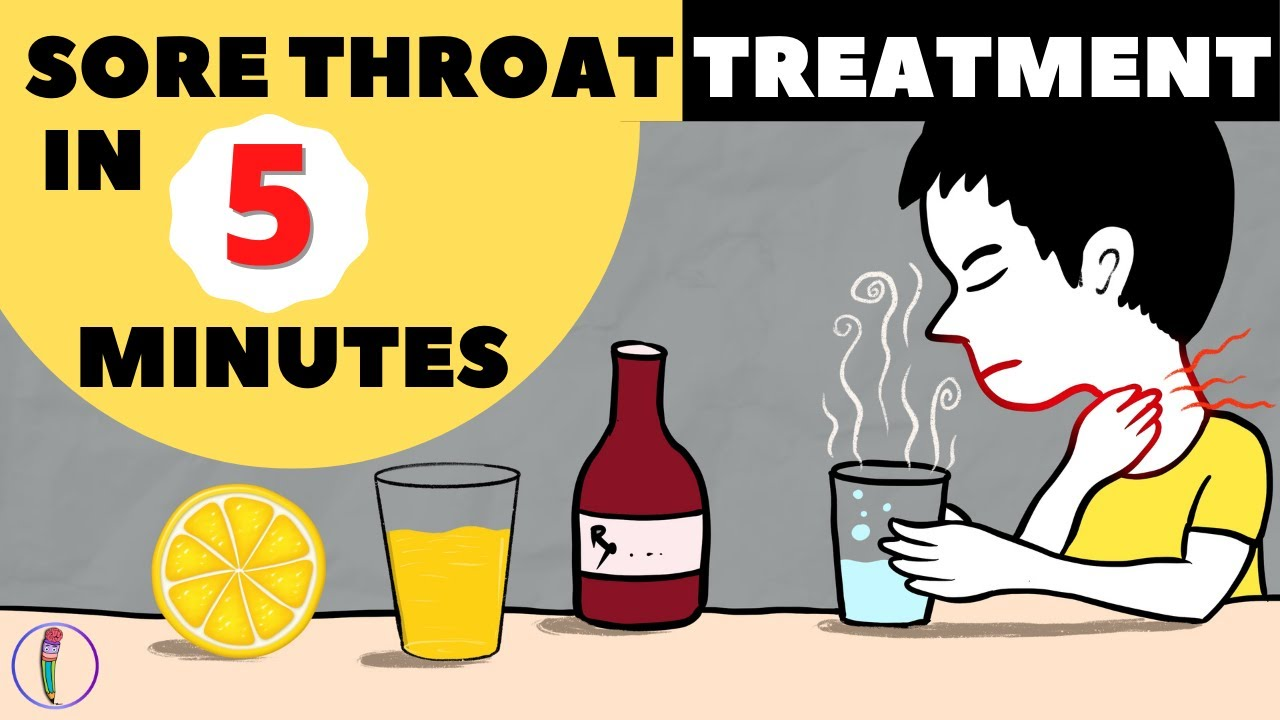 Download Sore throat remedies at home / How to treat sore throat at home