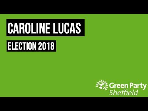 Caroline Lucas - SGP 2018 Campaign Speech