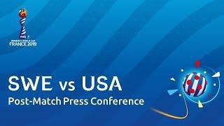 SWE v. USA - Sweden - Pre-Match Press Conference