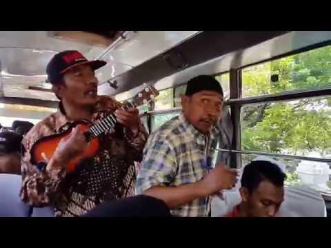 Tegeh || Lagu Madura || Pengamen Bus Surabya-Madura Suaranya Merdu Banget