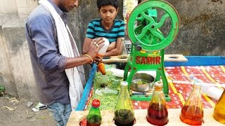 Ice Cola or Crushed Ice Lolly  or Chuski (Street food India)