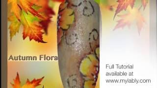 Autumn Flora Tutorial Preview