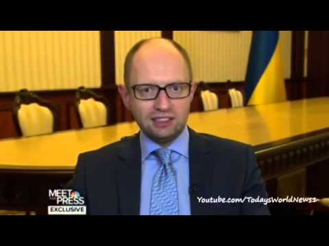 Ukraine PM Yatsenyuk: 'Putin trying to restore Soviet Union'