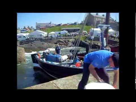 The 'Reaper' Herring Drifter Fishing Boat.wmv