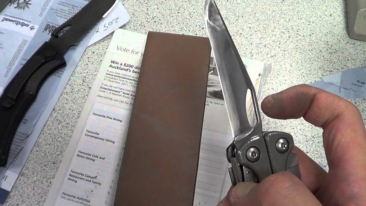 sharpen a leatherman