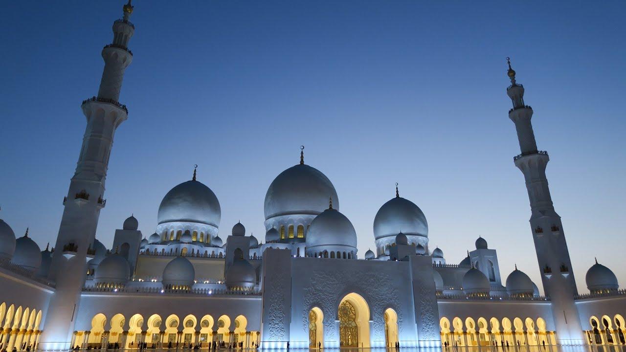 Sheikh Zayed Grand Mosque In Abu Dhabi Video Tour