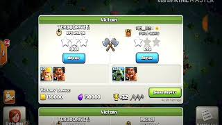 Clash of clan  one of the best funny attack in builder base  