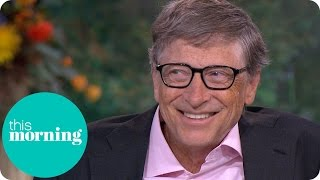 Bill Gates Talks Droṗping Out Of College And Reveals His Biggest Extravagance | This Morning