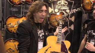 New Models from D'Angelico Guitars [NAMM 2013]