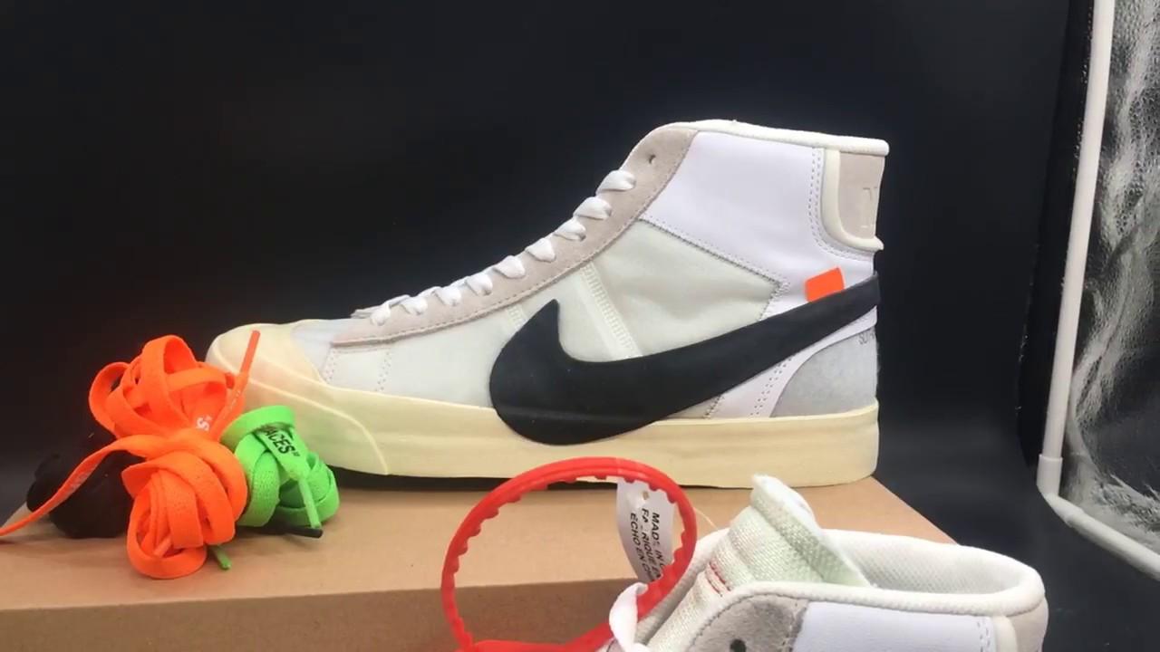 New Updated Nike Blazer Off White Virgil