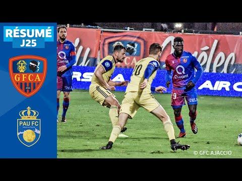 GFCO Ajaccio Pau Goals And Highlights