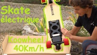 Skateboard électrique KOOWHEEL 40km/h / Aliexpress