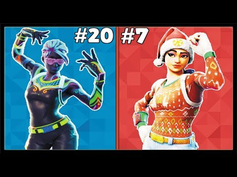 RANKING EVERY UNCOMMON SKIN FROM WORST TO BEST! (Fortnite Battle Royale!)