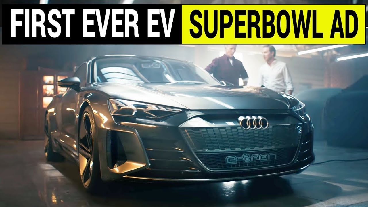 First Ever Electric Car Superbowl Commercial Audi S Wasted Moment