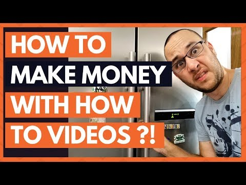 How to Make Money with Instructional Videos like.. (How to Clean Condenser Coils on Refrigerator)