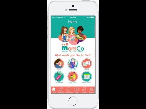 The MomCo App- Free Mobile App For Moms