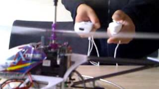 PCTX XTREME LAMA HELICOPTER CONTROLLED BY WIIMOTE