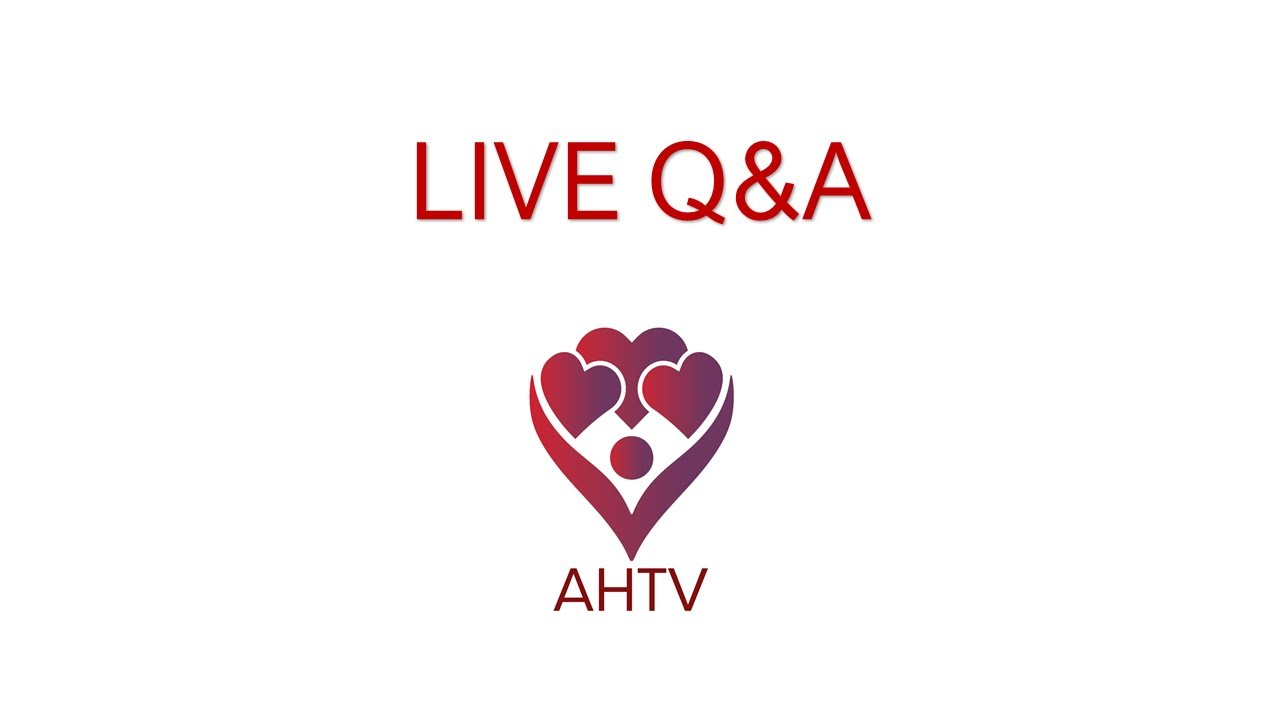 AHTV Live Q&A Event with Amy Wagner, LCSW-C