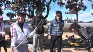 茨城県内のゴルフ場を、俳優・高田宏太郎と共に、毎回プロを交えてホー...