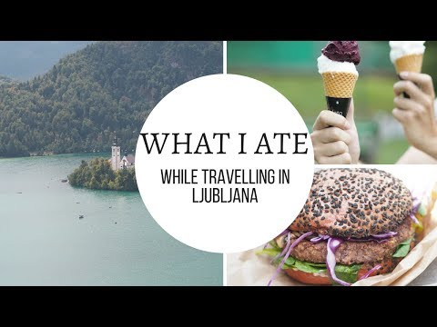 WHAT I ATE VEGAN IN LJUBLJANA // slovenia travel vlog