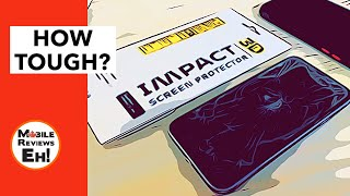 World's FIRST 3D Plastic Screen Protector? Rhinoshield 3D Impact Shield Review for the iPhone 11's