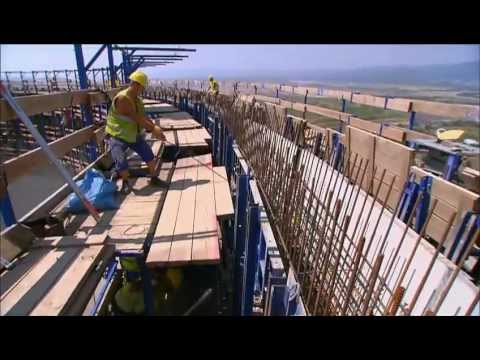 Self-climbing Formwork for Cooling Towers