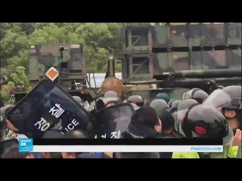 كوريون جنوبيون يحتجون على وصول صواريخ أمريكية إلى بلادهم..لماذا؟  - نشر قبل 4 ساعة