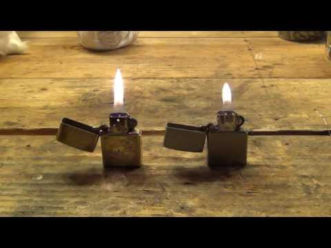 How to rebuild a Zippo lighter - HD