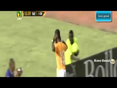 Ivory Coast vs Sierra Leone 5 1 GOALS FULL COMPLET 14 11 2014 streaming vf