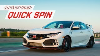 2019 Honda Civic Type R | MotorWeek Quick Spin