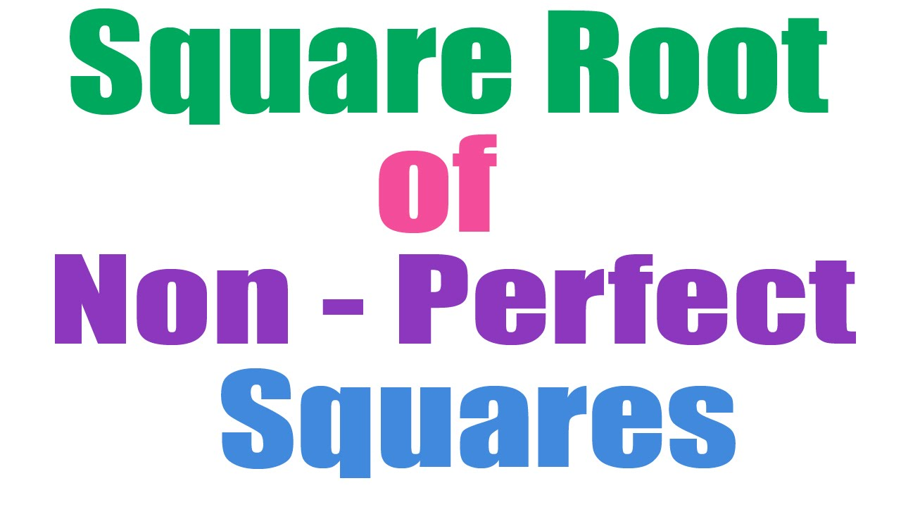 how to find square root of a number quickly