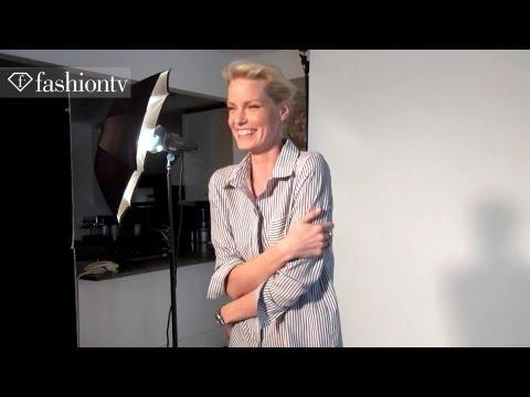 Supermodel Caroline Winberg On The Set for Plaza Magazine Photoshoot in Sweden | FashionTV